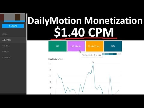 [DAY 30] Can You Make Money With DailyMotion Video Monetization?