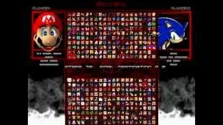 TheMattalocalypse RMB [1077] Team Mario (4) VS. Team Sonic (4)
