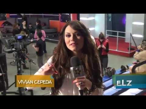 Vivian Cepeda - Detras de camara en Noches De LATV