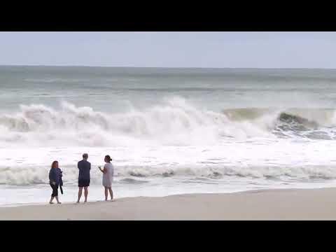 HURRICANE MICHAEL BRINGS MASSIVE WAVES TO FLORIDA