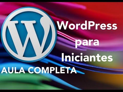 WordPress para Iniciantes - Aula Completa