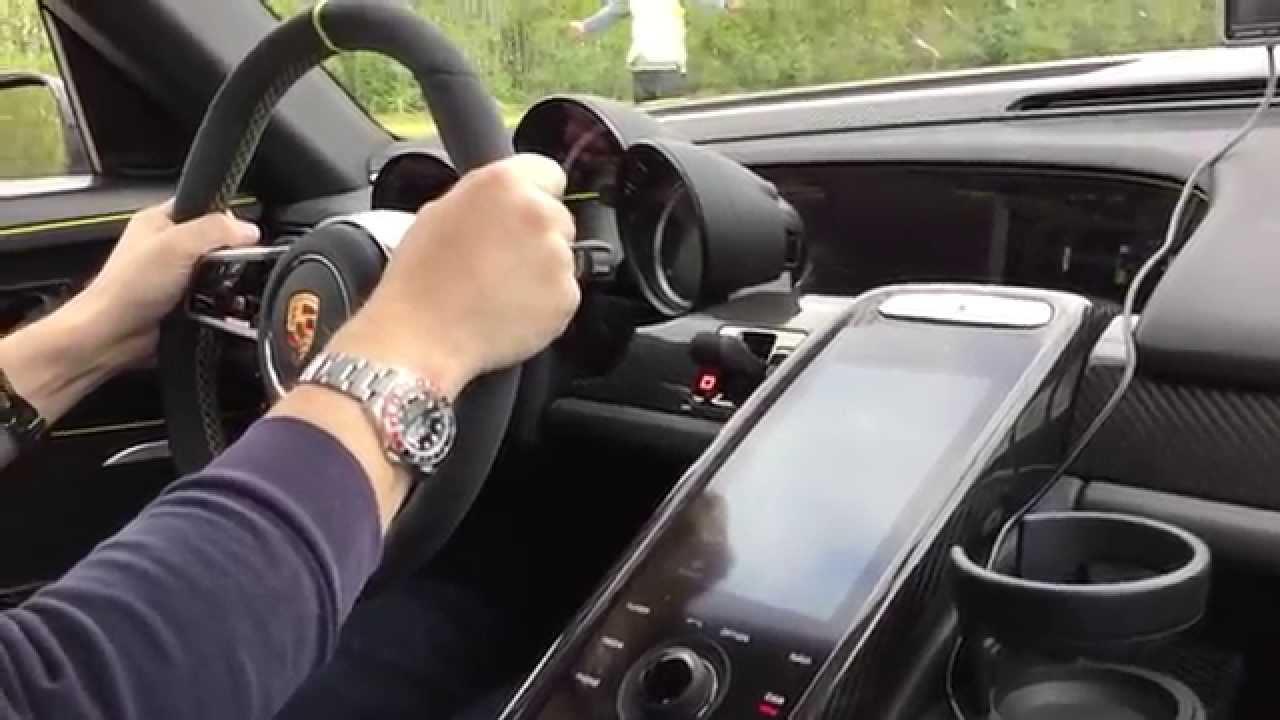 porsche 918 spyder ride launch control 0 330km h youtube. Black Bedroom Furniture Sets. Home Design Ideas