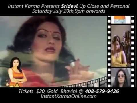 The First Female SuperStar of India Cinema ,Sridevi Up Close and Personal