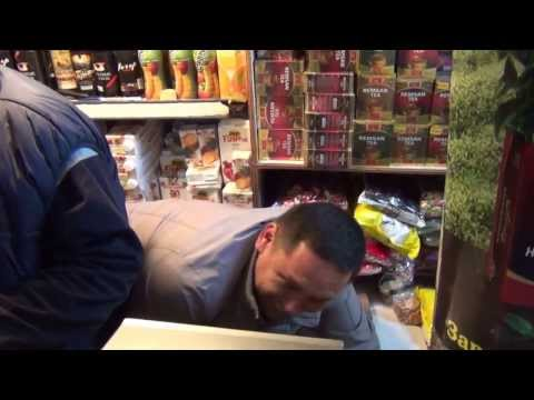 ГНС изымает контрафактный алкоголь на Ошском рынке
