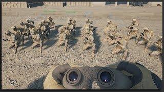 Crusading Commander - Squad Gameplay 1-Life Squad Operation: Crusader Platoon Leader Full Match