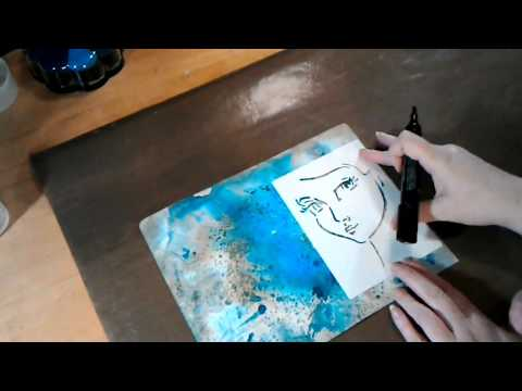 1/31/17 Art Journal Prompt: Process Video