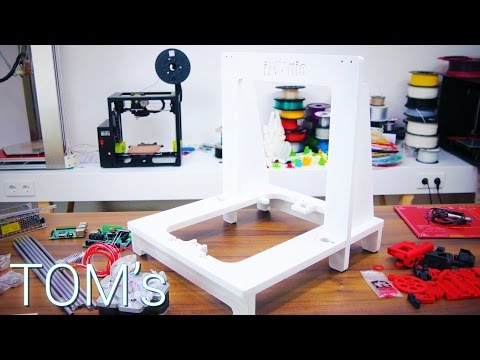 Build your own 3D Printer: Frames and Linear Motion!