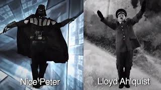 Дарт Вейдер vs Адольф Гитлер. Рэп битва) YGK...