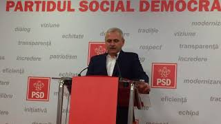 CEx PSD: Mihai Tudose a demisionat P1