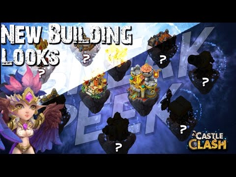 Castle Clash New Building Looks!