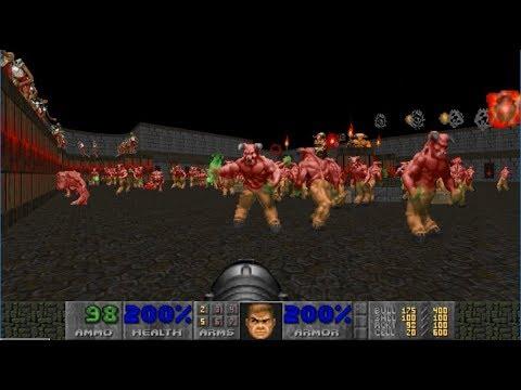 Doom II Coiling - Map 1 UV-MAX [TAS] in 29:36
