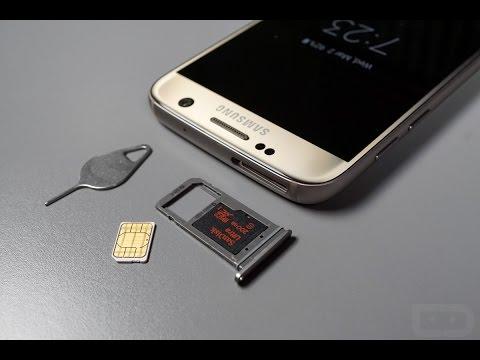 Samsung Galaxy S7, Come inserire la Sim o la Micro SD