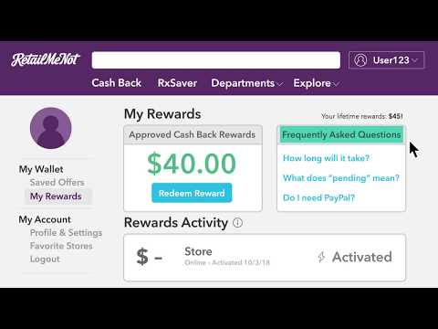 RetailMeNot Wallet Overview