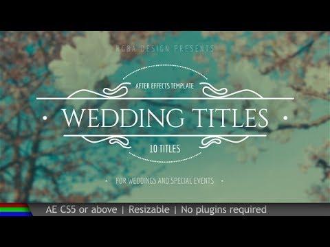 Wedding Titles 19995952