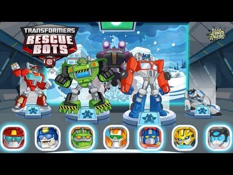 Transformers Rescue Bots: Disaster Dash Hero Run #57 | OPTIMUS PRIME, BOULDER, HEATWAVE Mission