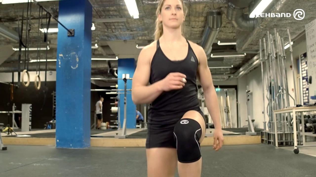 Rehband Blue Line 7mm Knee Support 7084 CrossFit