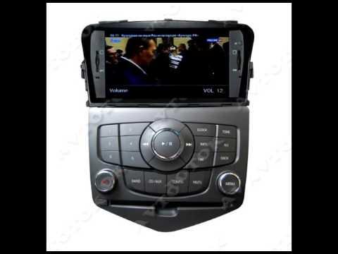 M045 Штатная магнитола Chevrolet Cruze (2008-2012) Winca S160 Android 4.4.4.