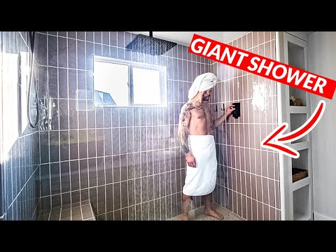 DIY Giant Shower Makeover