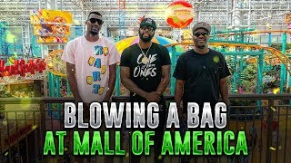 WENT BRAZY IN THE MALL OF AMERICA WITH MY BROTHERS!!!!!