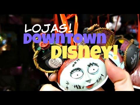 DISNEY SPRINGS: Lojas de Natal, Doces e Pins! (Ex Downtown Disney)