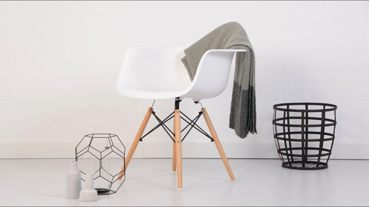 Armchair On Youtube Eames Daw Plastic Armchair Product Overview