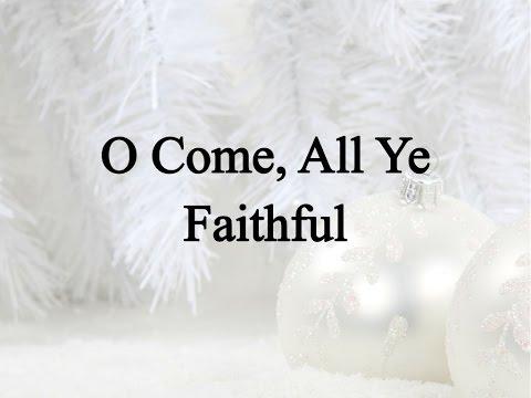 O Come, All Ye Faithful (Hymn Charts with Lyrics, Contemporary)