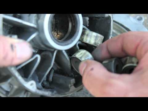 Suzuki Burgman - 26,808 miles - WORN Rollers, Belt, & Clutch shoes