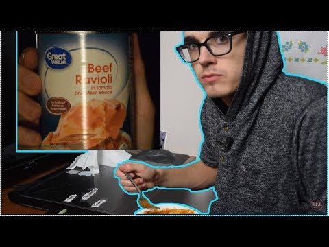Trying Canned Beef Ravioli from Walmart – Tony's Take Ep. 3