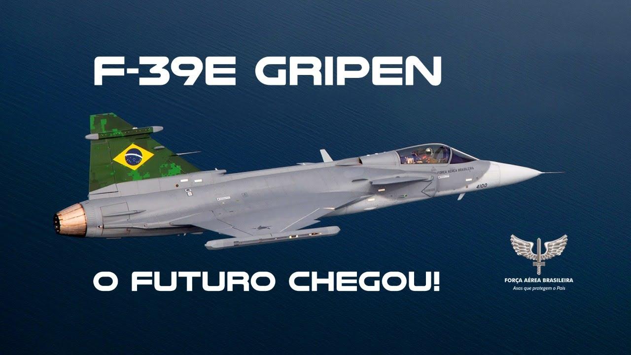 F-39E Gripen realiza primeiro voo em espaço aéreo brasileiro