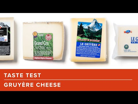 Our Taste Test Of Supermarket Gruyère