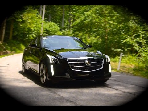2014 Cadillac CTS Vsport Twin Turbo V6 Start Up, Full Review, Test Drive CRESTMONT CADILLAC