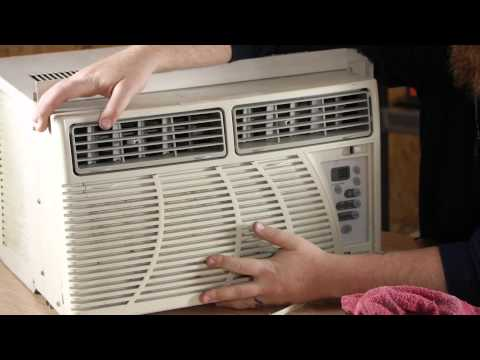 How to Store a Window Air Conditioner : Window Air Conditioners