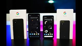 NEW Google Pixel 4 & Google Pixel 4 XL Unboxing & Review