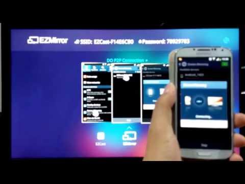 อุปกรณ์ เชื่อมต่อมือถือ Samsung S4 เข้าจอทีวีแบบไร้สาย ในระบบ HD (รองรับมือถือทุกค่าย)