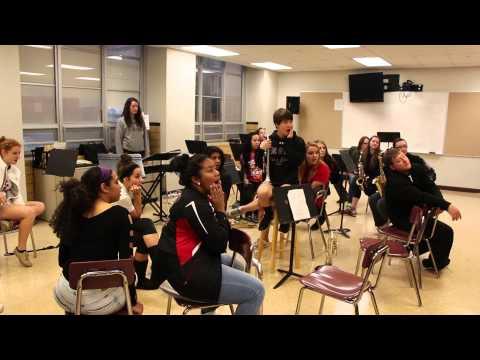 2015 SHS Senior Varsity Show Skit Band Geeks
