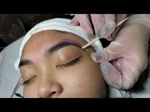 Eyebrow Tinting and Waxing Tutorial