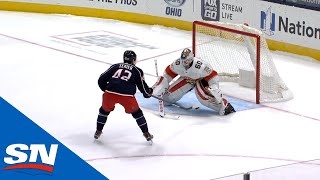 GOTTA SEE IT: Blue Jacket's Alexandre Texier Scores One-Handed Shootout Goal Of The Year Candidate