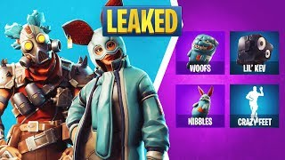 Fortnite 6.21 Leaked Items: Flapjackie Skin, Growler Skin, Crazy Feet Emote, Lil Kev, & More