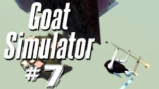 USER MADE LEVEL OF AWESOME | Goat Simulator - Part 7