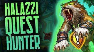 Halazzi Quest Hunter is Amazing! | Rastakhan
