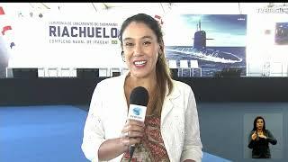 Temer e Bolsonaro participam de lançamento de submarino