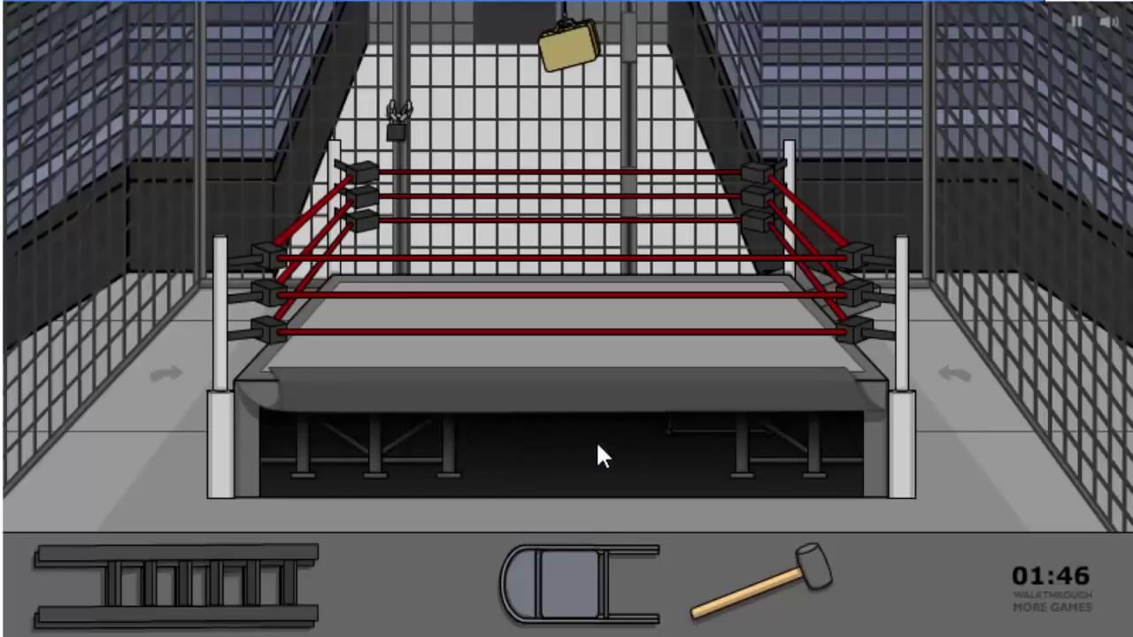 escape the wrestling ring walkthrough karim muhtar youtube