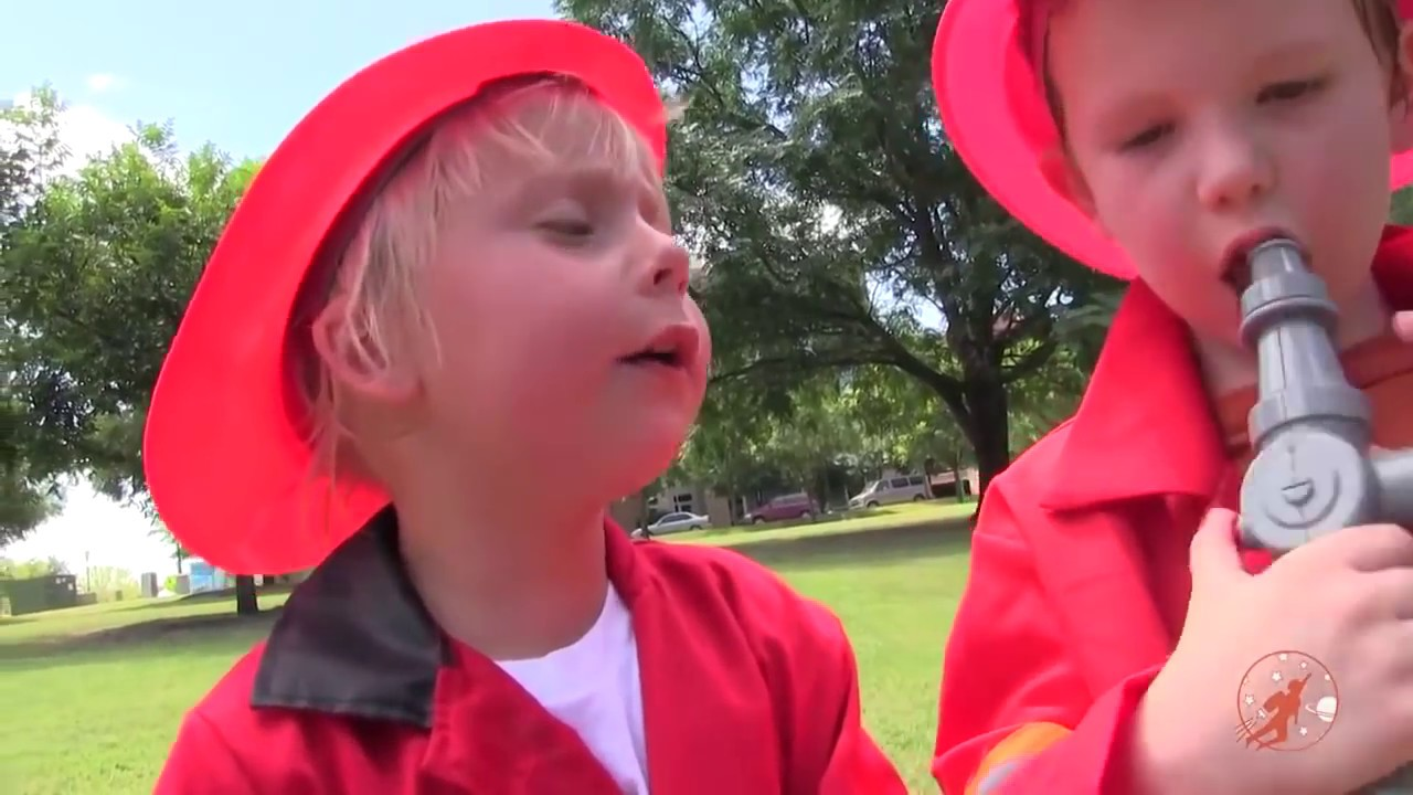 Little Heroes Compilation from New Sky Kids - The Kid Fire Fighters, Police Cars, Fire Trucks + More