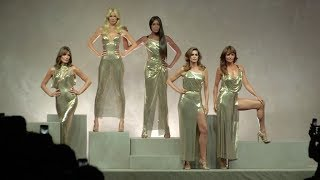 Carla Bruni, Claudia Schiffer, Naomi Campbell, Cindy Crawford and more on the runway for Versace