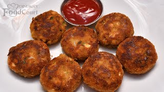 Egg Cutlet/ Potato Egg Cutlet/ Healthy Breakfast