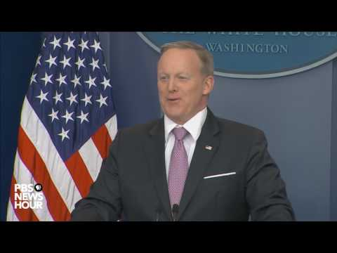 Spicer quotes Trump on 'phony' jobs reports