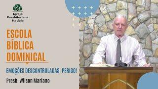 Escola Bíblica Dominical (14/06/2020) - Igreja Presbiteriana Itatiaia