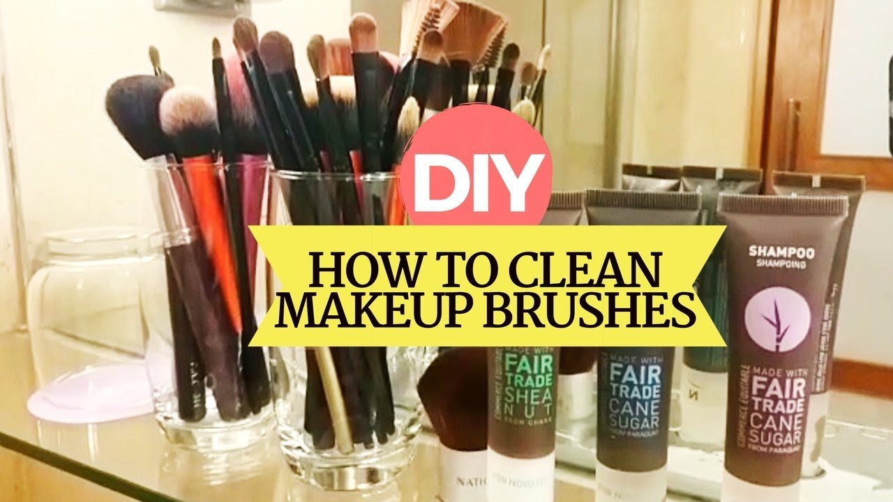 How To: Clean Makeup Brushes At Home | Easiest & Cheapest Way!