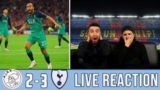 LATE DRAMA!😱 LA LIGA FANS REACTION TO: SPURS