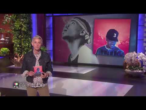 "Chance the rapper performs ""No Problem"" on Ellen"